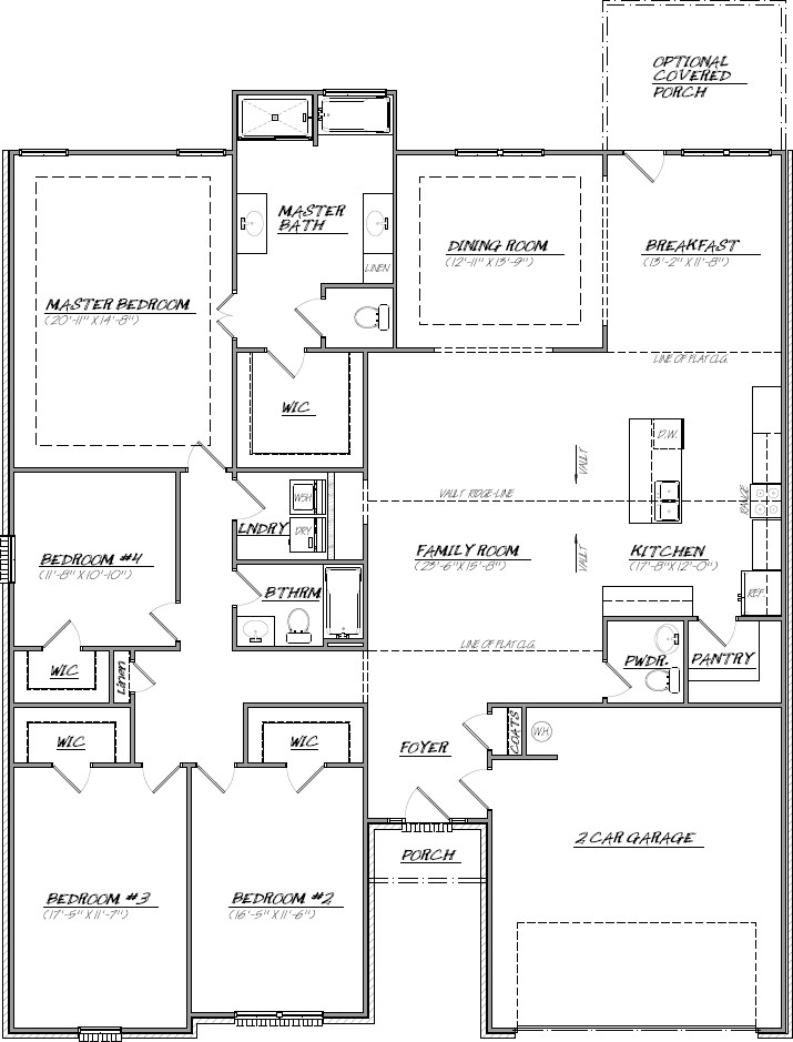 The Ivey Floor Plan